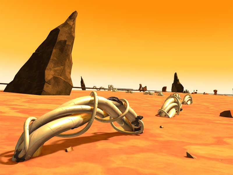 Le territoire du désert